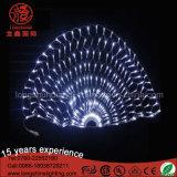 عادة حجم [220ف] [رغبي] [لد] دائرة مستديرة شبكة ضوء مع 8 عمل جهاز تحكّم لأنّ حادث زخارف