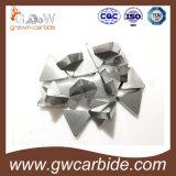 맷돌로 갈기를 위한 텅스텐 탄화물 Cmng에 의하여 놋쇠로 만들어지는 삽입 또는 절단 삽입