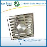 Сток пола ливня нержавеющей стали для фильтра воды в вспомогательном оборудовании ванной комнаты