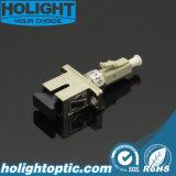 LC mannetje aan de Vrouwelijke Hybride Adapter van Sc voor Optische Vezel