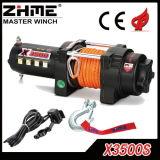 treuil électrique de corde synthétique de la vitesse 3500lbs rapide avec pour ATV/UTV