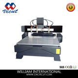 4 ejes CNC Rotary router CNC máquina de la carpintería de madera (VCT-3230FR-10H)