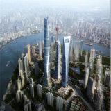 Verre d'économie d'énergie de 3 mm de haute performance en ligne Low-E pour l'architecture