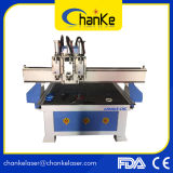 Ck1325 6 Cabeças 4.5kw Aliuminium Wood MDF Cutting CNC Machine