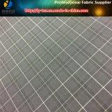 Миниая ткань проверки для куртки людей в покрашенной пряже полиэфира (YD1032)