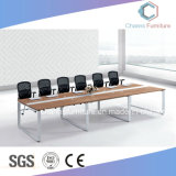 Горячая продавая офисная мебель стола встречи меламина таблицы металла