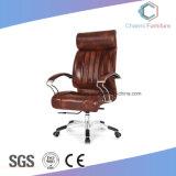 Hohes rückseitiges Schwenker-Schwarz-Stuhl-Chef-Büro-lederner Stuhl