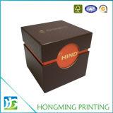 Kundenspezifisches Firmenzeichen-prägengeschenk-Papieruhr-Kasten