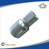 유압 탄소 강철 한 조각 Parker 관 이음쇠