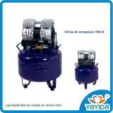 Compresor de aire libre de aceite para el dentista