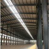 Struttura d'acciaio del magazzino prefabbricato, tettoia della struttura d'acciaio