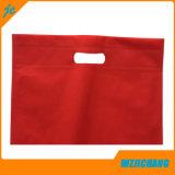 Sac à bandoulière en or Shinny, sacs à vêtements non tissés, sac à provisions non tissé