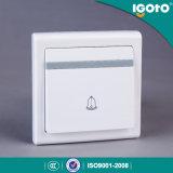 Тип электрический франтовской домашний переключатель Igoto UK стены дверного звонока