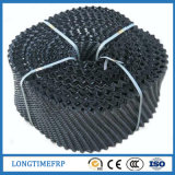 Materiale di riempimento della torre di raffreddamento dell'onda del cerchio del PVC pp 250mm 300mm