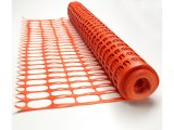 HDPE Verkehrssicherheit, die orange Zaun warnt