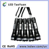 365nm UV 토치 3W LED 플래쉬 등