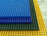 El FRP o rejilla compuesta como plataforma y escalera