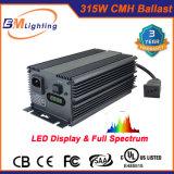 la reattanza di 315W Digitahi CMH/HPS idroponica coltiva la lampada con il riflettore di alluminio
