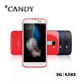 Android5.1 5.0 téléphone mobile en verre d'arc de pouce Qhd2.5D