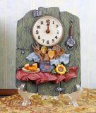 Часы декора смолаы домашние для подарка сувенира