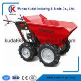 300Kgs Motor a Gasolina de 4WD Mini Dumper