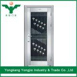 Precio residencial de la puerta del acero inoxidable de la puerta de acero de la seguridad de Yongjie