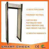 アーチ道の金属探知器のドアをインストールすること容易なスマートな小切手のSecugate 650の機密保護のドア