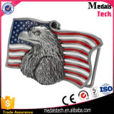 EUA Marinha Army Item Flag 3D Eagle Matt Silver Alloy Belt Buckle