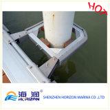 Porte-piles en aluminium de haute qualité pour Marina / Dock en Chine