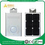 8 W à LED de plein air du capteur radar à micro-ondes de la rue lumière solaire