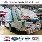 vrachtwagen van de Pers van de Levering van het Huisvuil Dongfeng de Euro 5 van 7cbm 9cbm met de Motor van Cummins