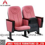 La fabricación de materiales de tela Auditorio silla y escritorio Yj1006r