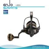 Spinning pescador Seleccione Full Metal Aluminio / Fijo Carrete Carrete de pesca (SFS-LA350)