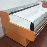 Refrigerador de la ráfaga de la cabina de visualización de la carne para el alimento cocido