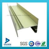 Profil en aluminium d'extrusion de l'alliage 6063 T5 pour le tissu pour rideaux de cadre de porte de guichet