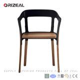 Réplica Magis Ronan & cadeira de Erwan Bouroullec Steelwood (OZ-1246A)