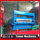 Metalldach-Fliese-gewölbtes Blatt-Walzen, das Maschine bildet