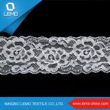 Tessuto elastico operato del merletto del cavo di Softextile, tipo di materiale del merletto