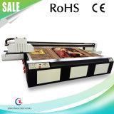 Белый принтер печатание цвета UV планшетный для плиток MDF/WPC/Ceramic