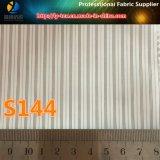 Подкладка одежды шерсти в ткани покрашенной пряжей нашивки полиэфира (S144.145)