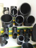 DIN-ISO-Zustimmung PE80/100 PET-materielles gleiches HDPE Vierwegskreuz-wichtige Befestigungen für Wasser-Rohr