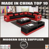 Muebles europeos L de lujo sofá del estilo de la dimensión de una variable