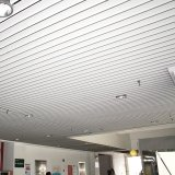 Tecto de tiras de alumínio de alta qualidade para construção de interiores