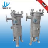 Singolo filtro a sacco a temperatura elevata dell'acciaio inossidabile