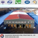 Atelier lourd de structure métallique avec la mezzanine