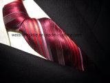 (PStrip22-25) Haute qualité Jacquard Soie Tissée, Polyester Cravate Cravate Homme
