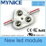 Feito na Luz do Módulo de Luz LED de China 3PCS IP67 para Signage e Anúncio Iluminado