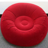En PVC rouge football gonflable canapé confortable pour la promotion