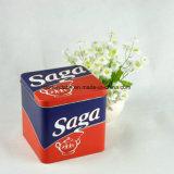 Kundenspezifische quadratische Blechdosen für Plätzchen, Plätzchen-verpackenzinn-Kasten