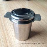 Alto Padrão em aço inoxidável resistentes ao calor de folhas soltas vaso Infuser chá de Silicone